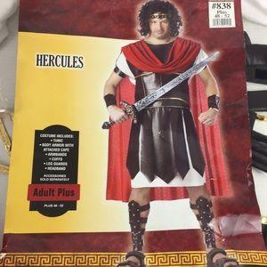 New Hercules Gladiator Roman Warrior Costume